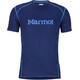 Marmot Windridge Kortærmet T-shirt Herrer with Graphic blå